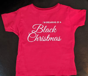 Black Christmas - children & adult