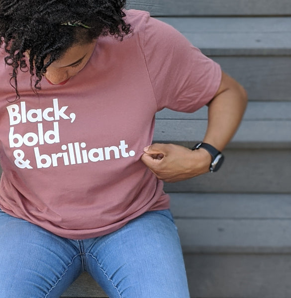 Black, bold & brilliant - adult