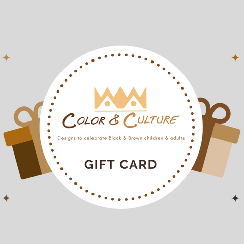 Color & Culture gift card
