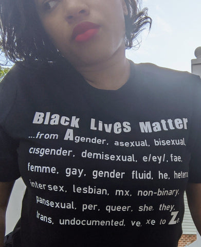 Black Lives Matter - a to z (adult)