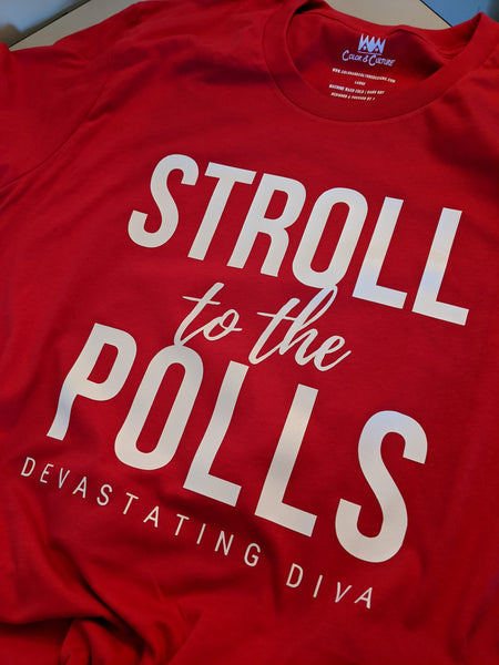 Stroll to the Polls - Devastating Diva