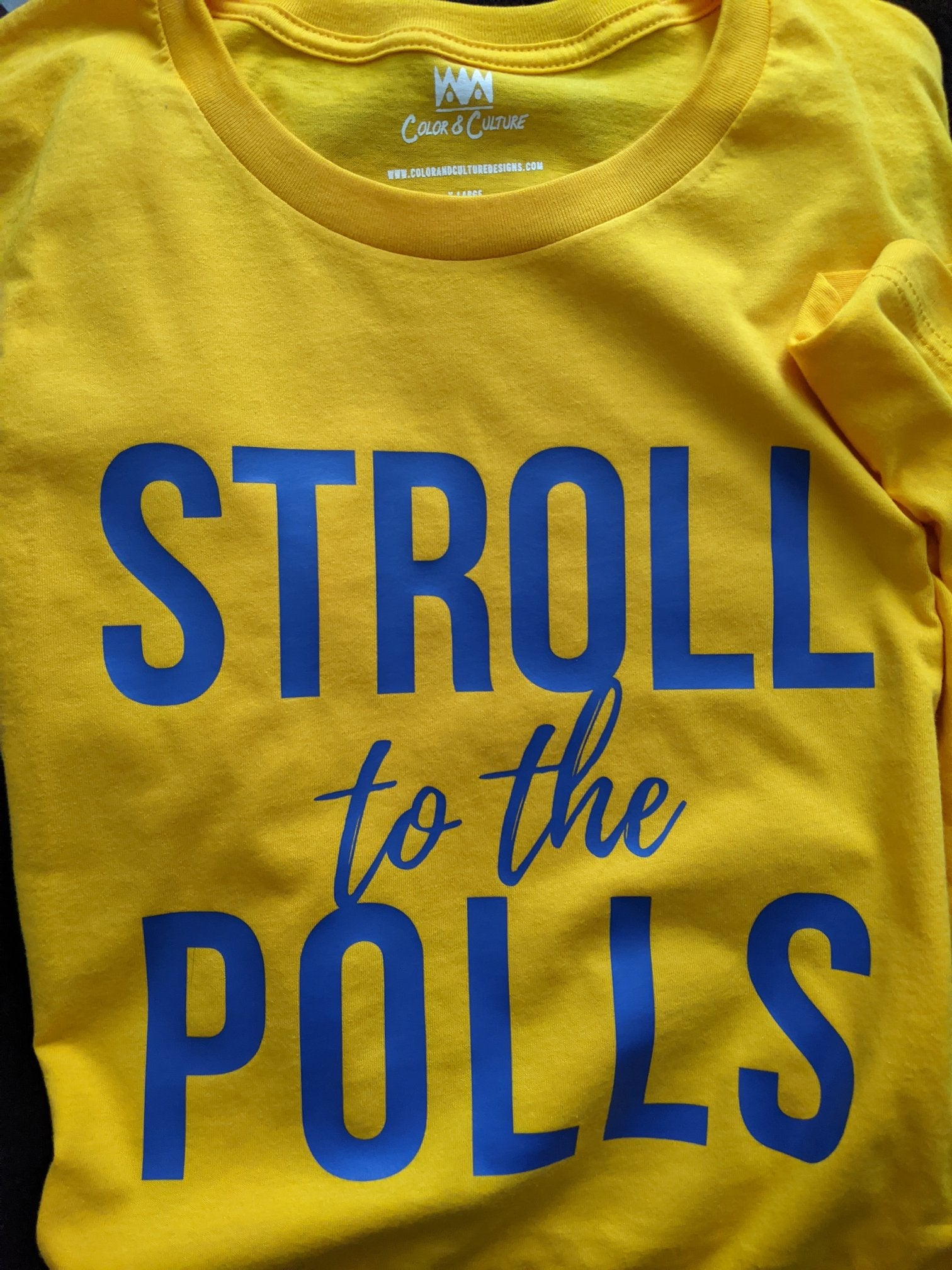 Stroll to the Polls - SGRho
