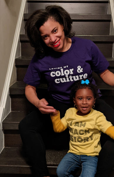 Loving my Color & Culture - adult