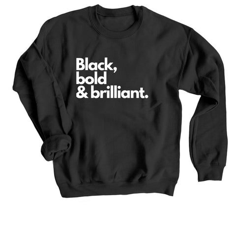 Black, bold & brilliant (adult)