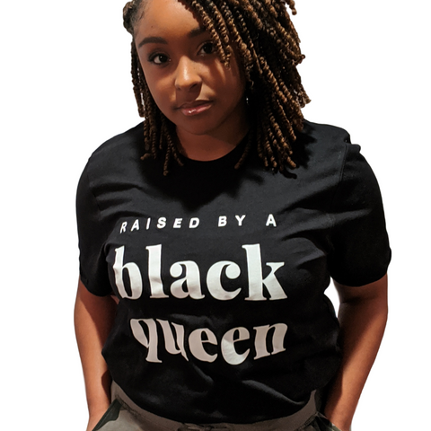 Raised by a Black Queen (white) - adult
