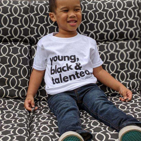 Young, Black & Talented (black) - children