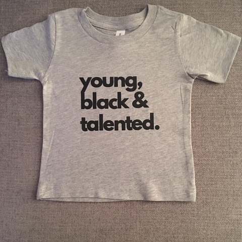 Young, Black & Talented (black) - adult