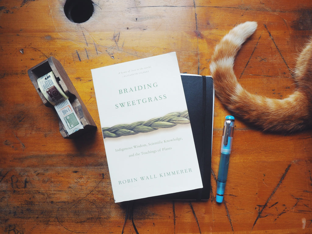 July's Wonder Pens Reads: Braiding Sweet Grass by Robin Wall Kimmerer