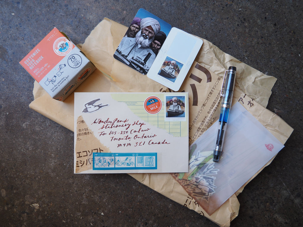 Correspondence Envelopes + Mail Art: Letter Writing Club Tonight