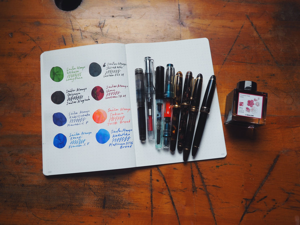 New Sailor Manyo Inks