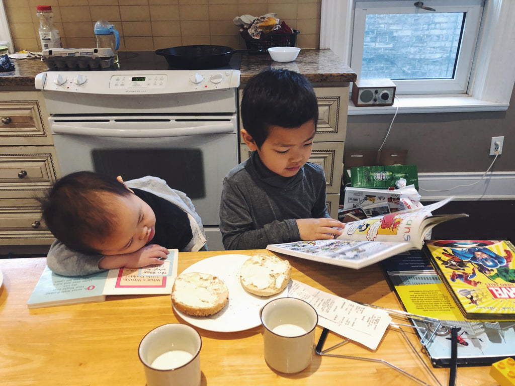 Homeschooling Diaries: Reading Together
