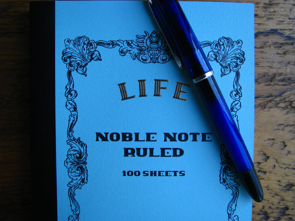 Life Japanese Stationery Noble Note Ruled Book