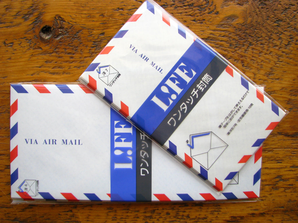 Life Japanese Airmail Envelopes