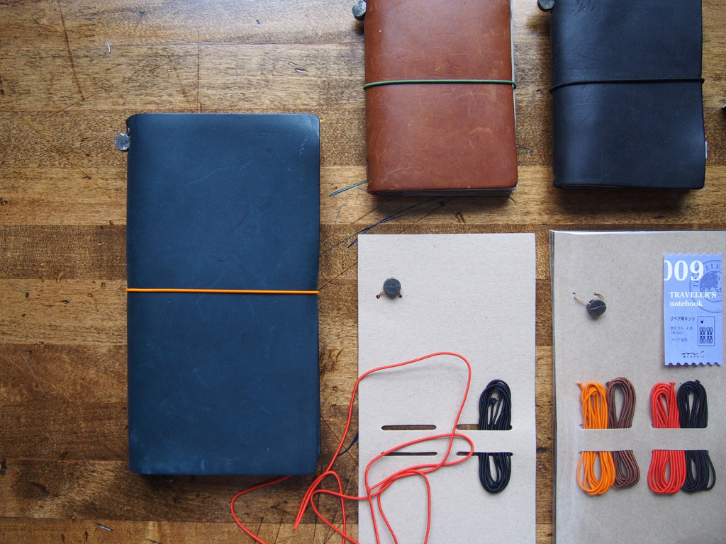 How to Change the Elastic for Midori Traveler's Notebooks