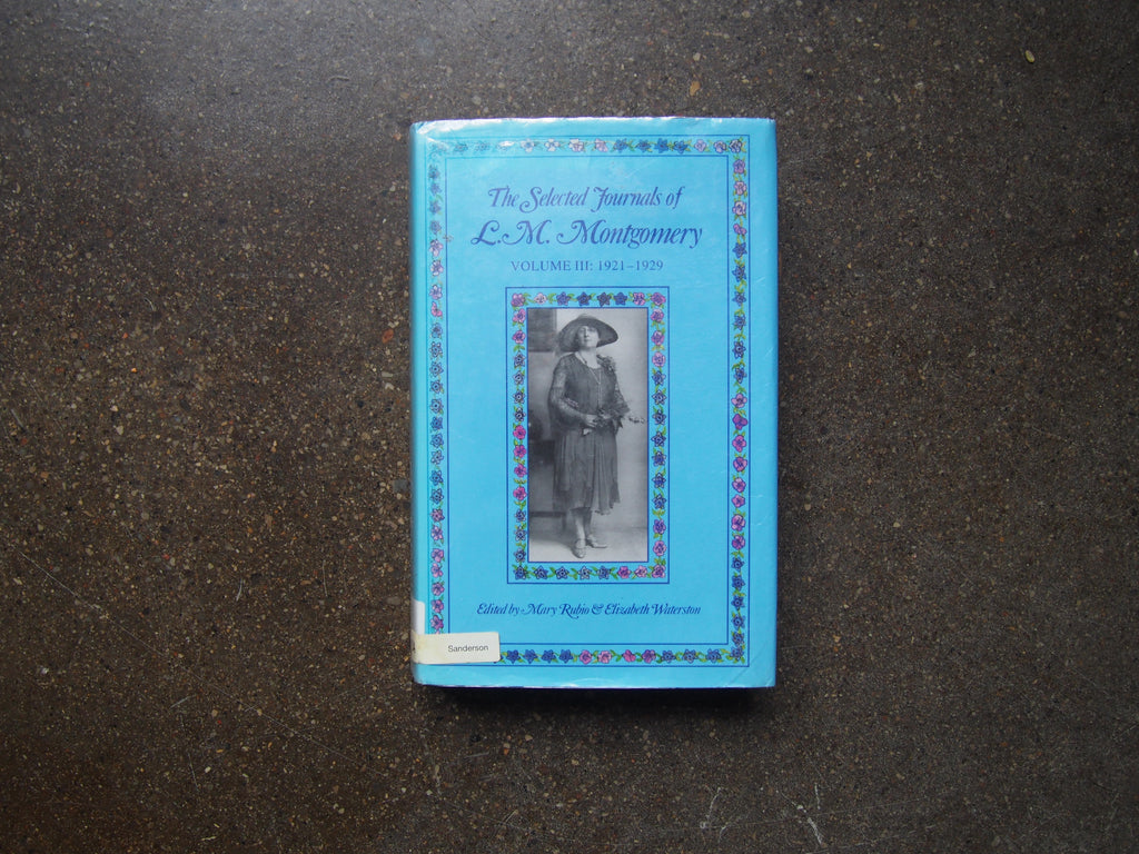 On Journal Writing: Inspiration from L.M. Montgomery