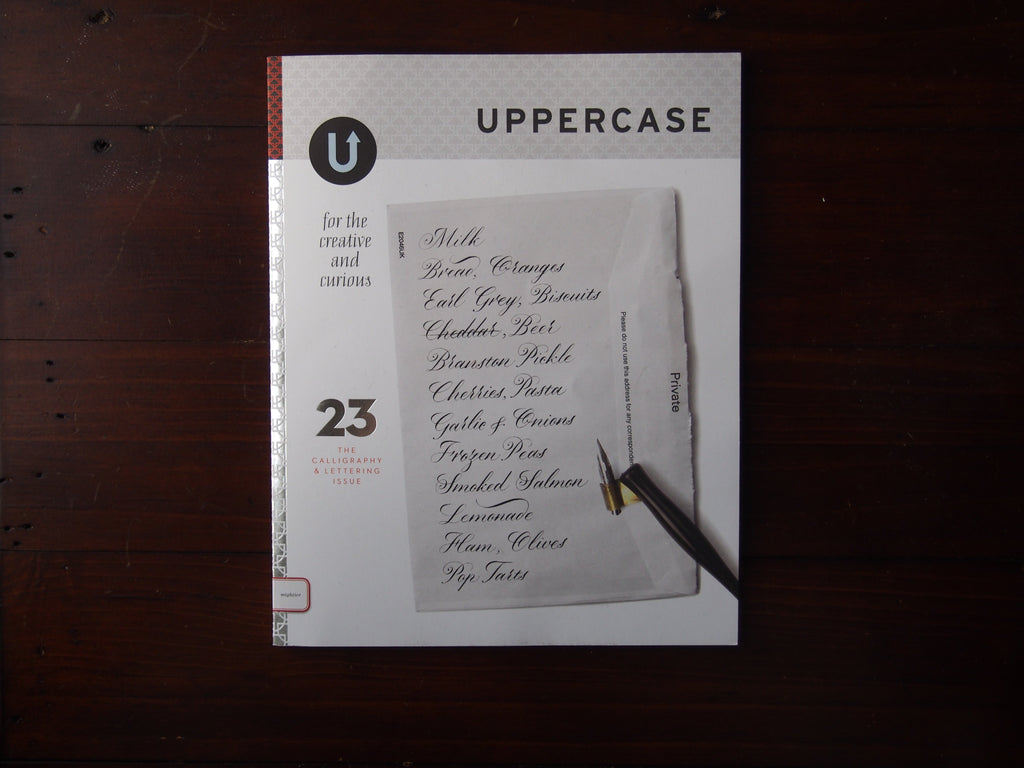 Uppercase Magazine Issue 23: The Calligraphy & Lettering Issue