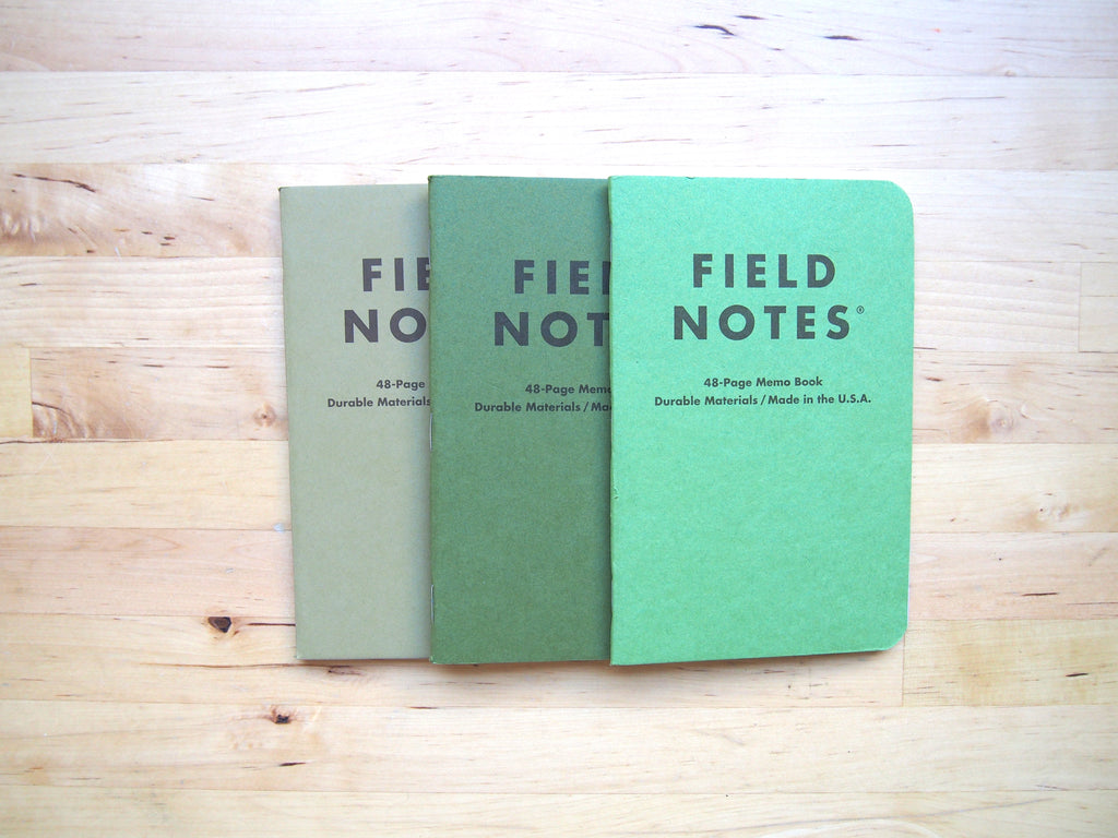 Field Notes: Shenandoah + Workshop Companion Seasonal Editions, and Expedition