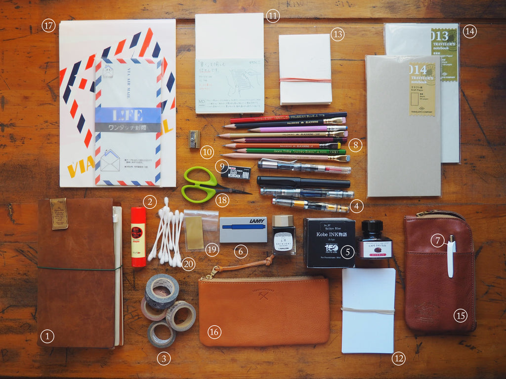 Stationery Supplies for the Trip, Part 1