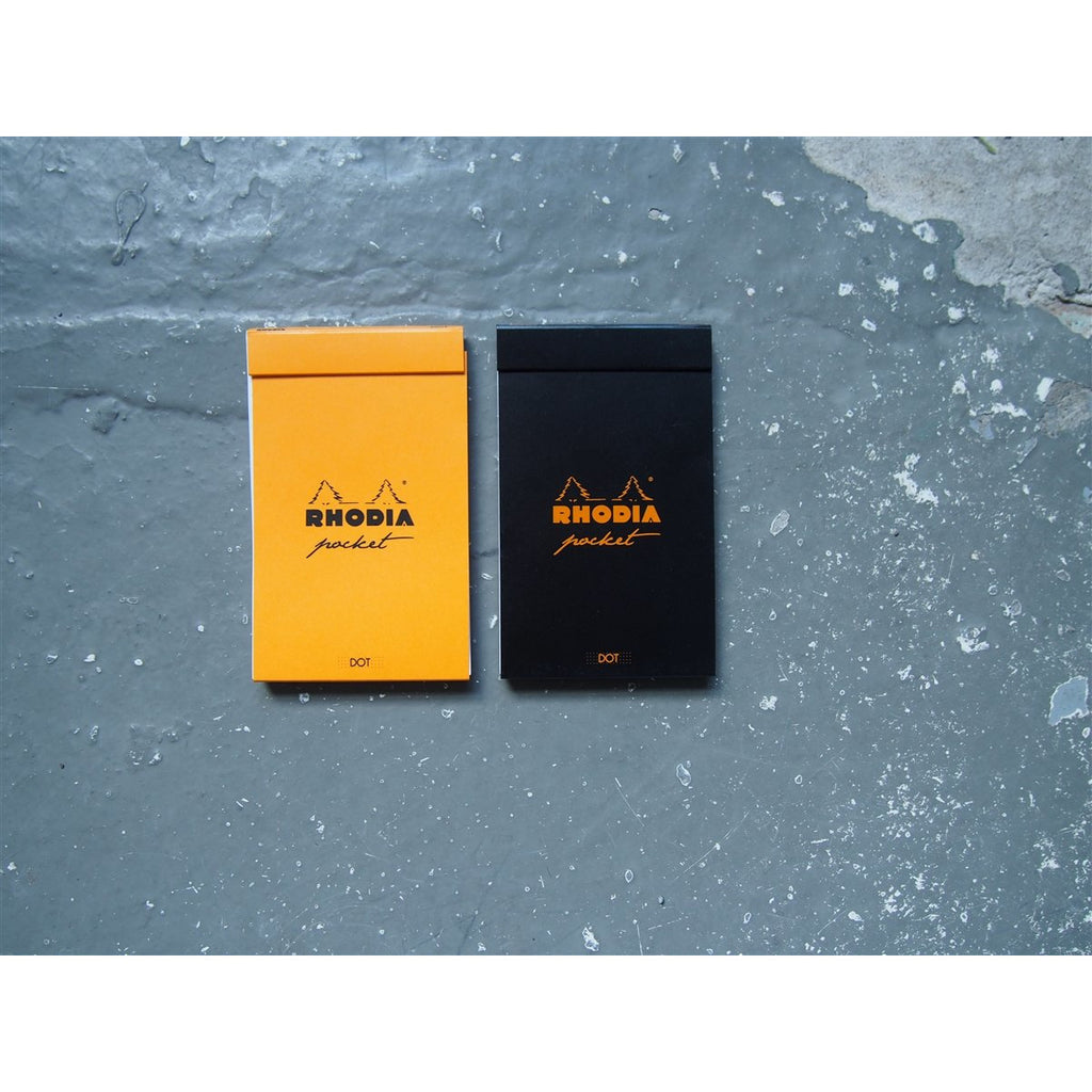 <center>Rhodia Pocket Pad - Orange - Dot</center>