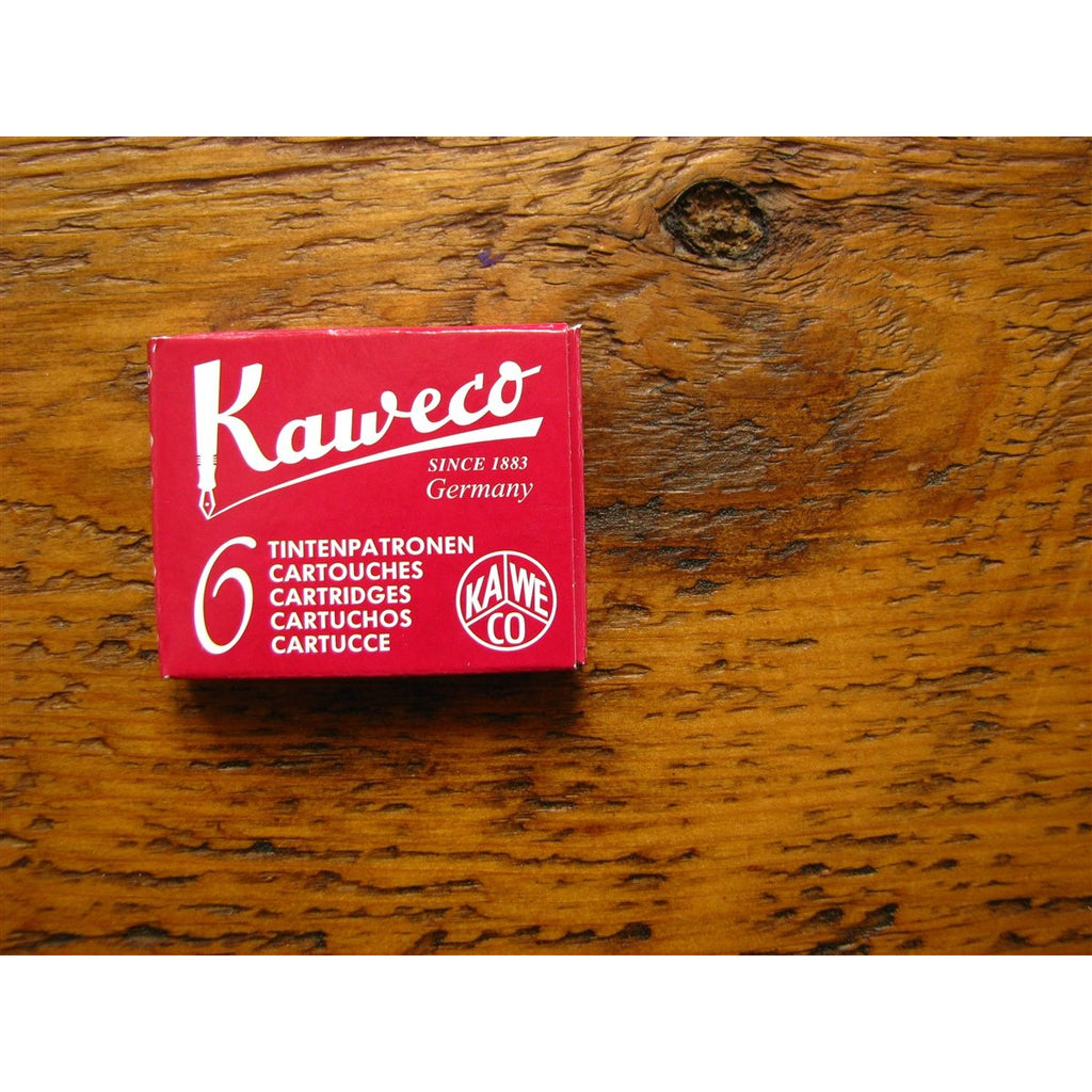 <center>Kaweco Ink Cartridges - Ruby Red (Red)</center>