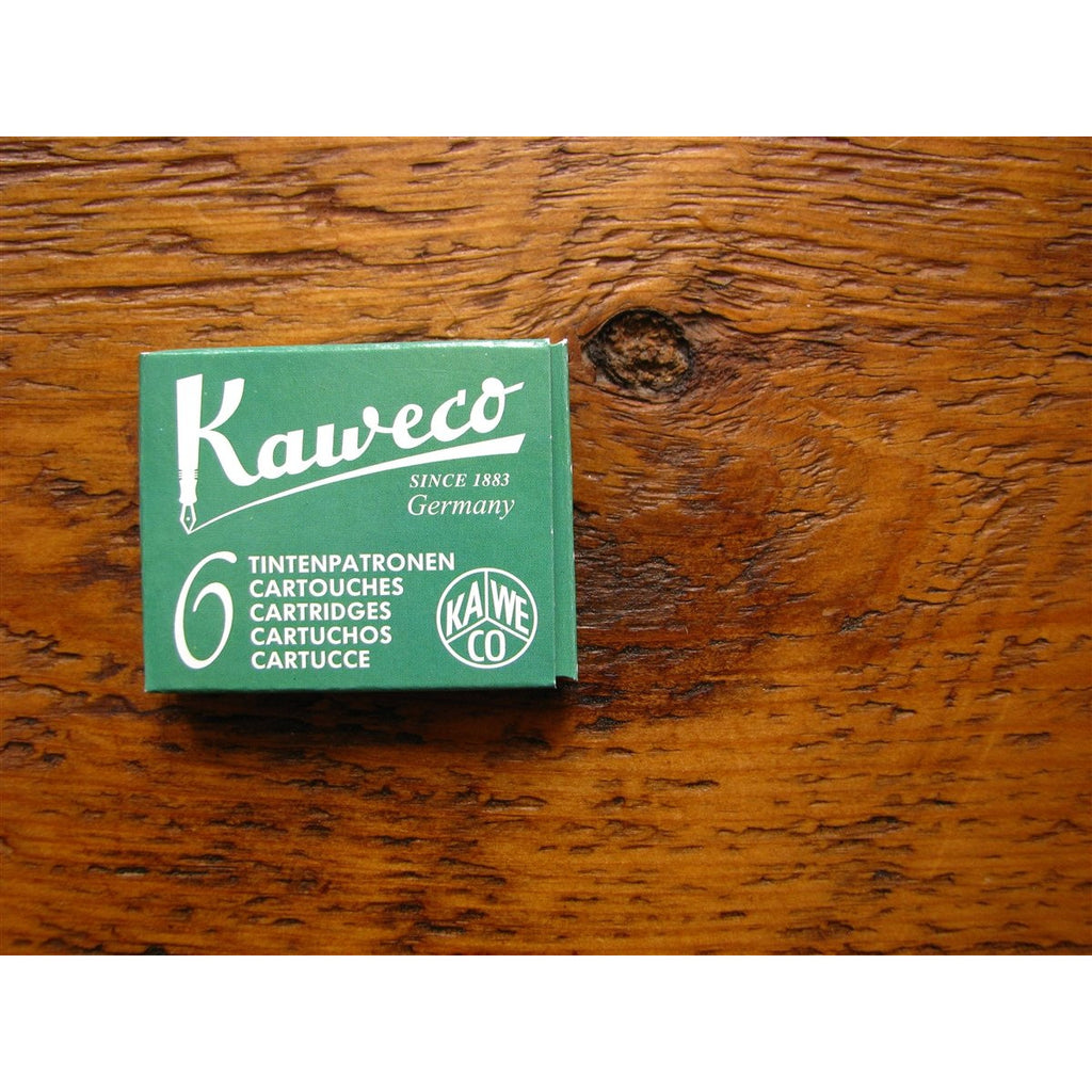 <center>Kaweco Ink Cartridges - Palm Green (Green)</center>