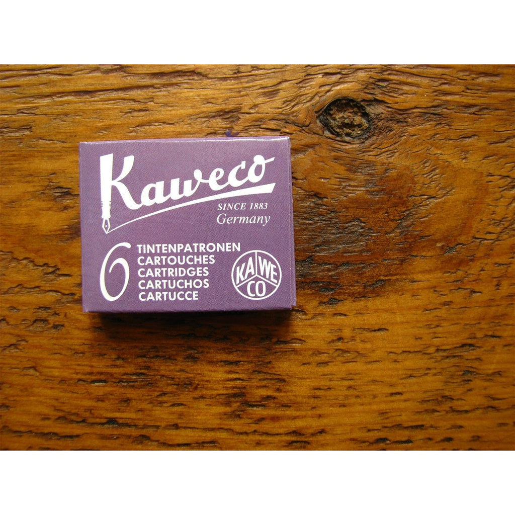 <center>Kaweco Ink Cartridges - Summer Purple (Purple)</center>