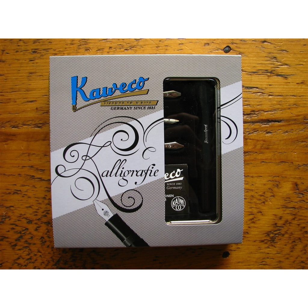 <center>Kaweco Sport Calligraphy Set - Black</center>