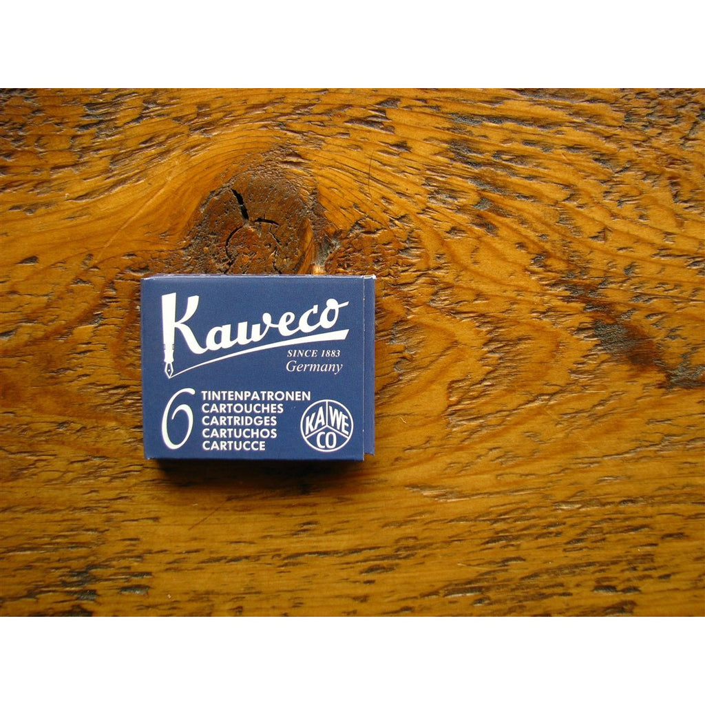 <center>Kaweco Ink Cartridges - Midnight Blue (Blue-Black)</center>