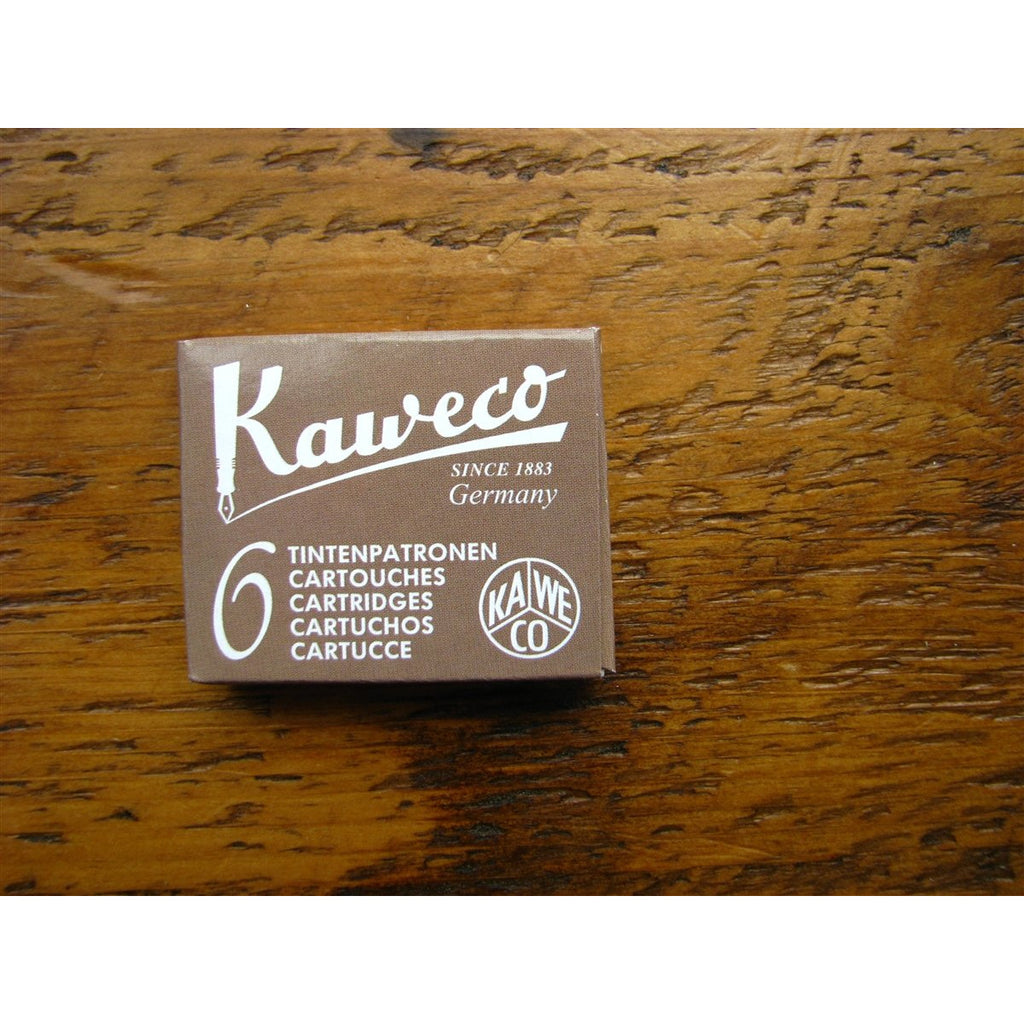 <center>Kaweco Ink Cartridges - Caramel Brown (Brown)</center>