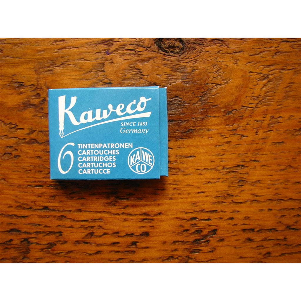 <center>Kaweco Ink Cartridges - Paradise Blue (Turquoise)</center>