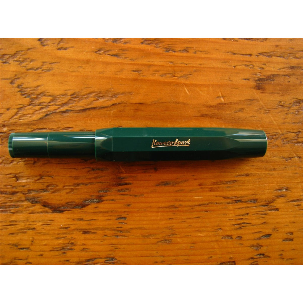 <center>Kaweco Classic Sport Fountain Pen - Green</center>