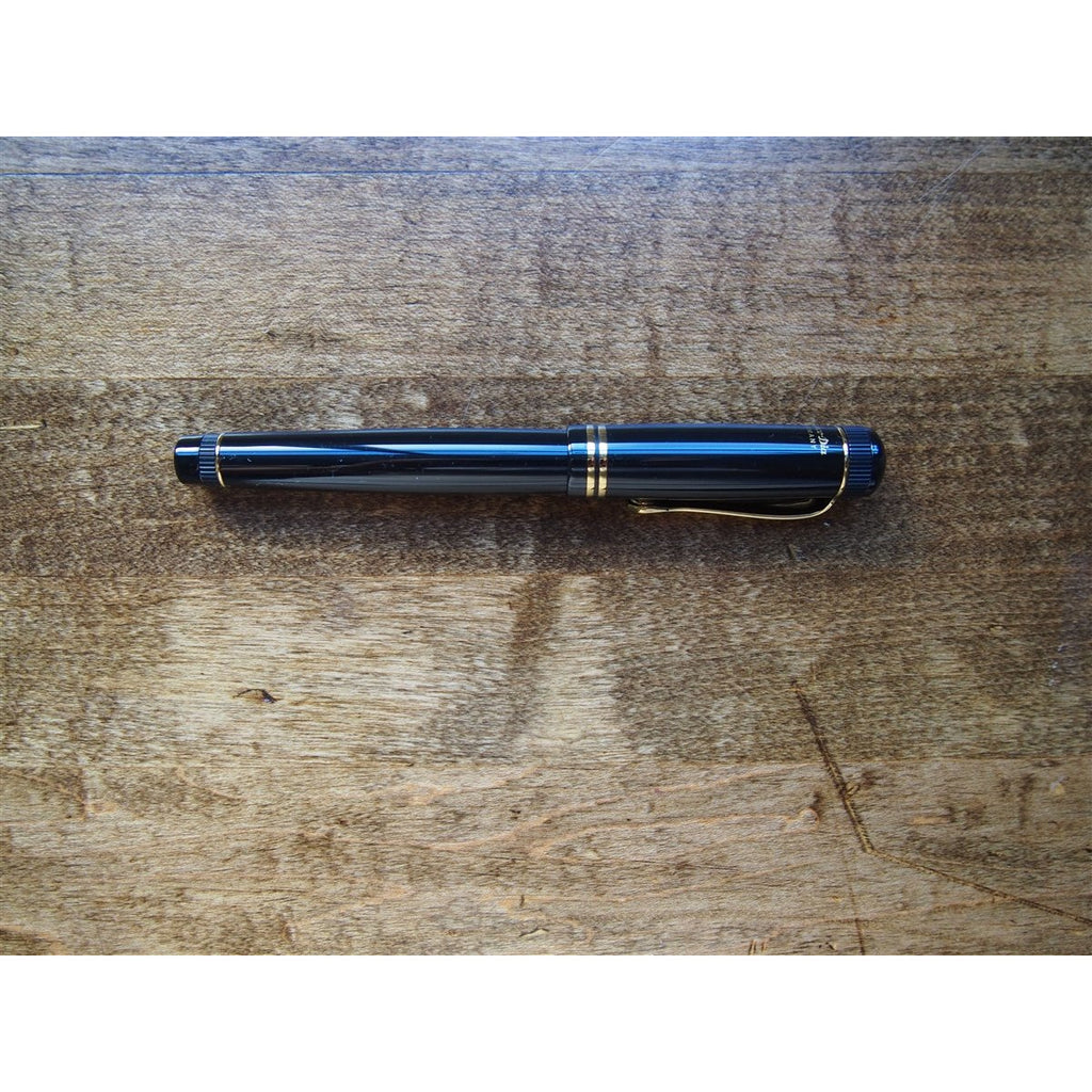 <center>Kaweco Dia2 Fountain Pen - Black with Gold Accents</center>