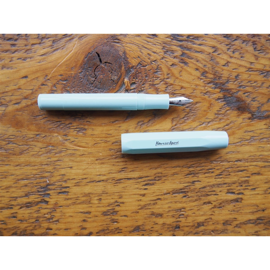 <center>Kaweco Skyline Sport Fountain Pen - Mint</center>