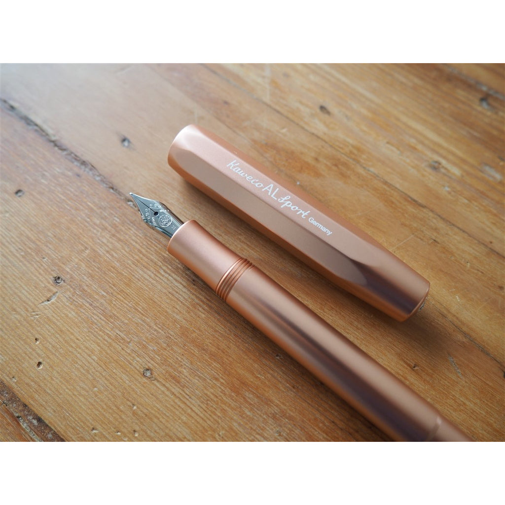 <center>Kaweco Classic AL Sport Fountain Pen - Rose Gold</center>