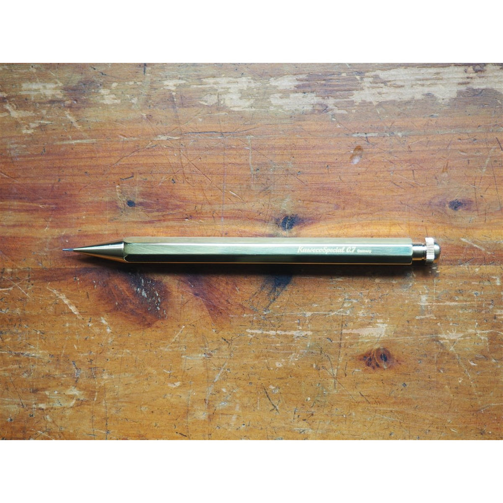 <center>Kaweco Brass Special Mechanical Pencil - 0.7mm</center>