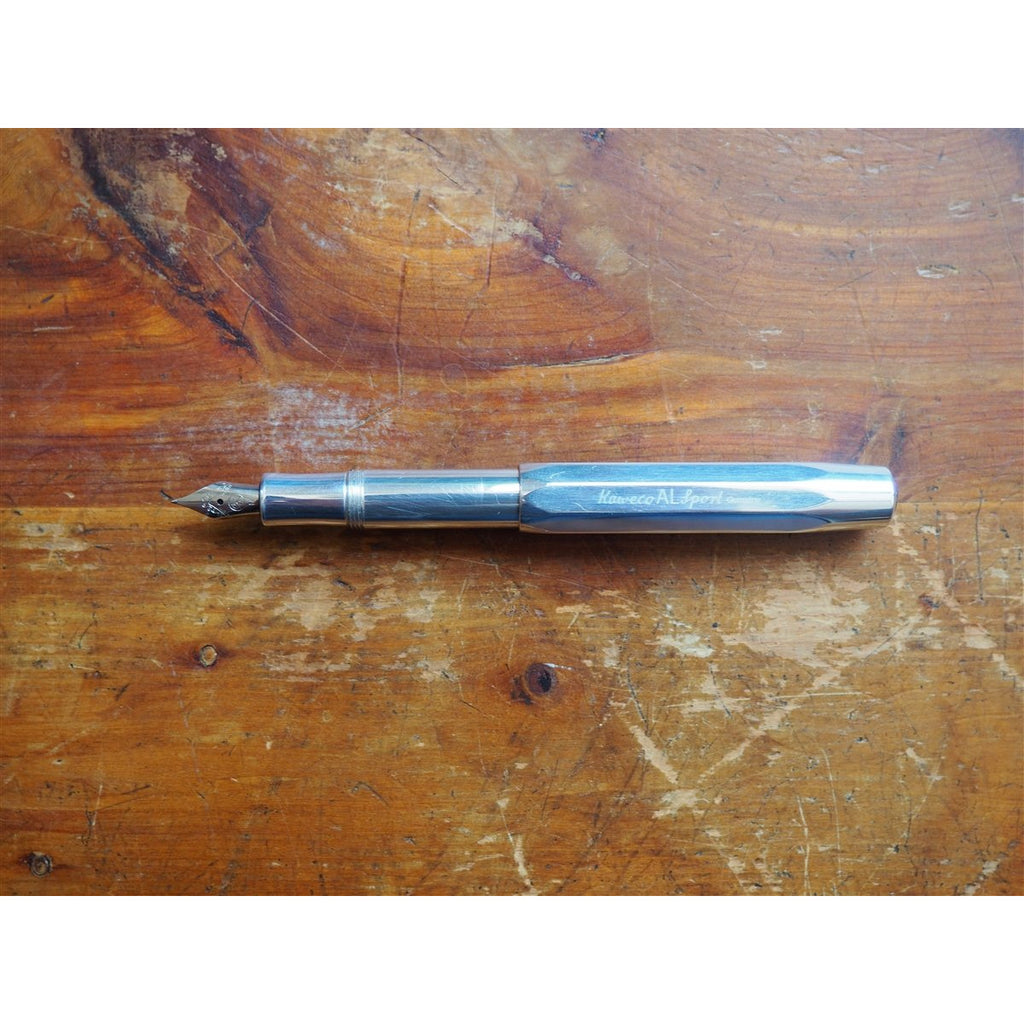 <center>Kaweco Classic AL Sport Fountain Pen - Raw</center>