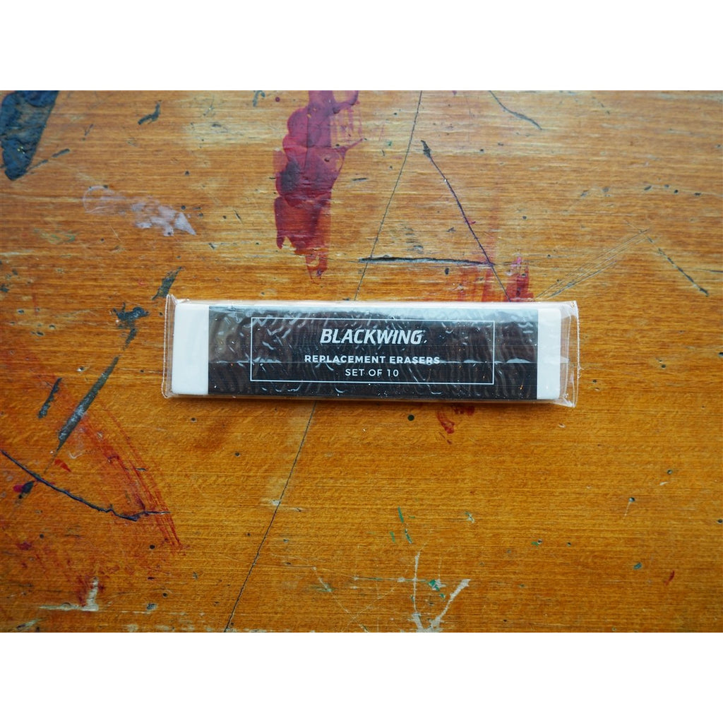 <center>Palomino Blackwing Replacement Erasers (pack of 10) - White</center>