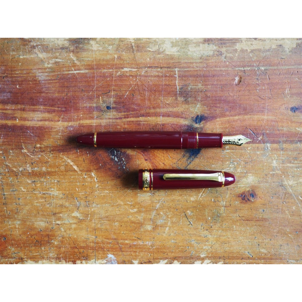 <center>Sailor 1911S Fountain Pen - Maroon</center>