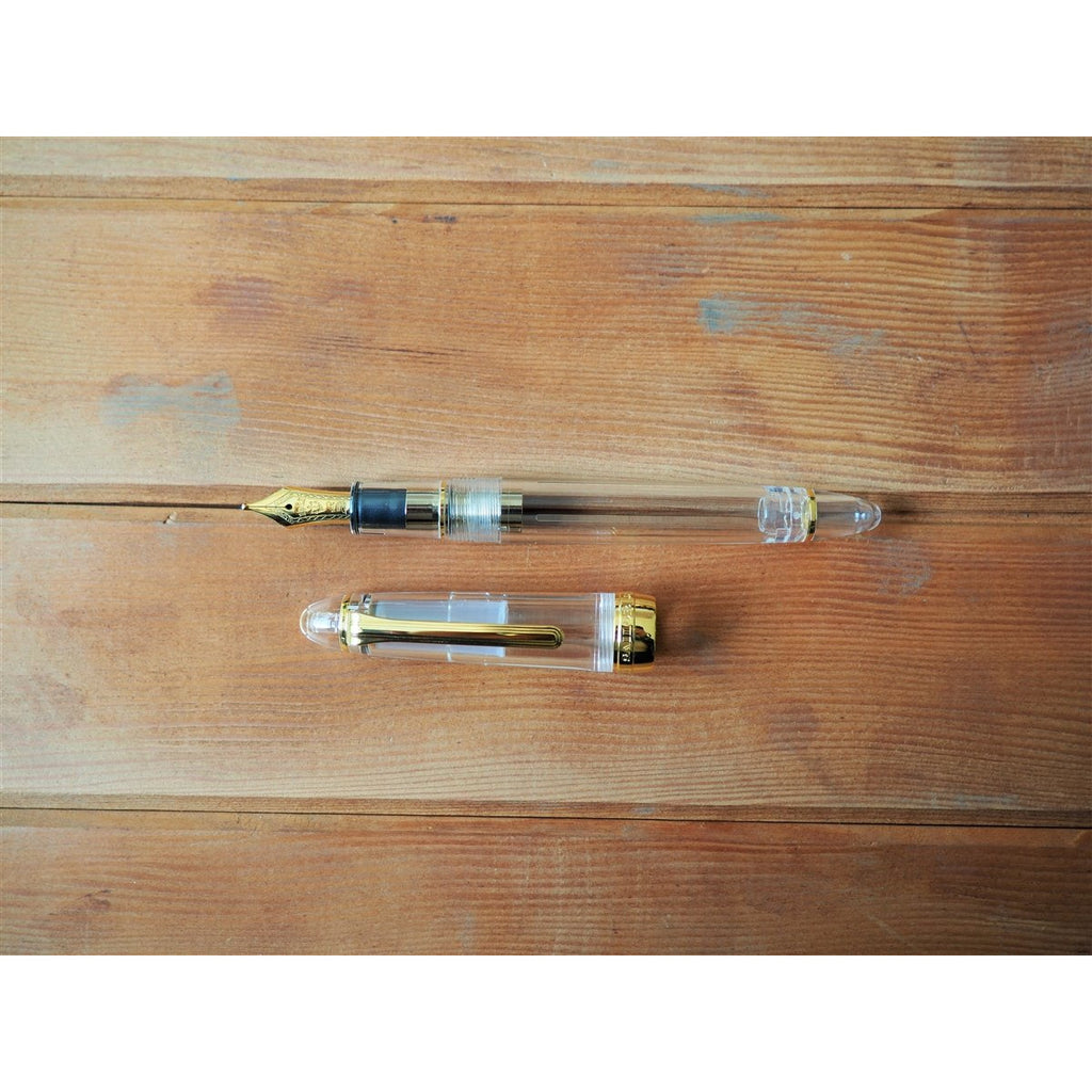 <center>Sailor 1911S Fountain Pen - Transparent</center>