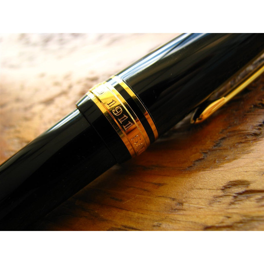 <center>Sailor 1911L Fountain Pen - Black</center>