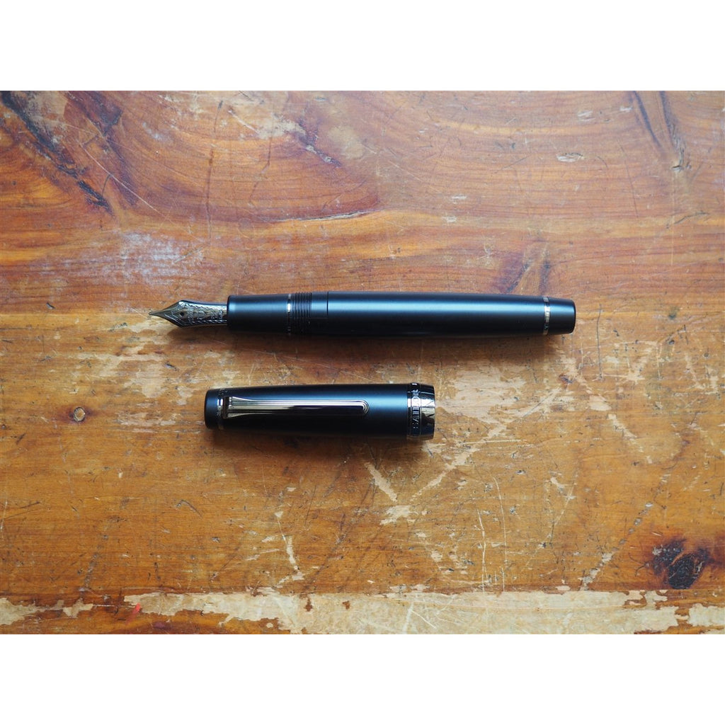 <center>Sailor Professional Gear Imperial Black Fountain Pen</center>