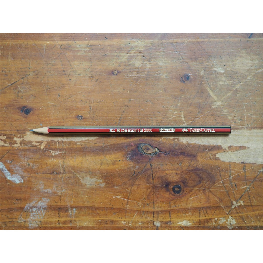 <center>Faber-Castell Dessin 2000 Pencil </center>