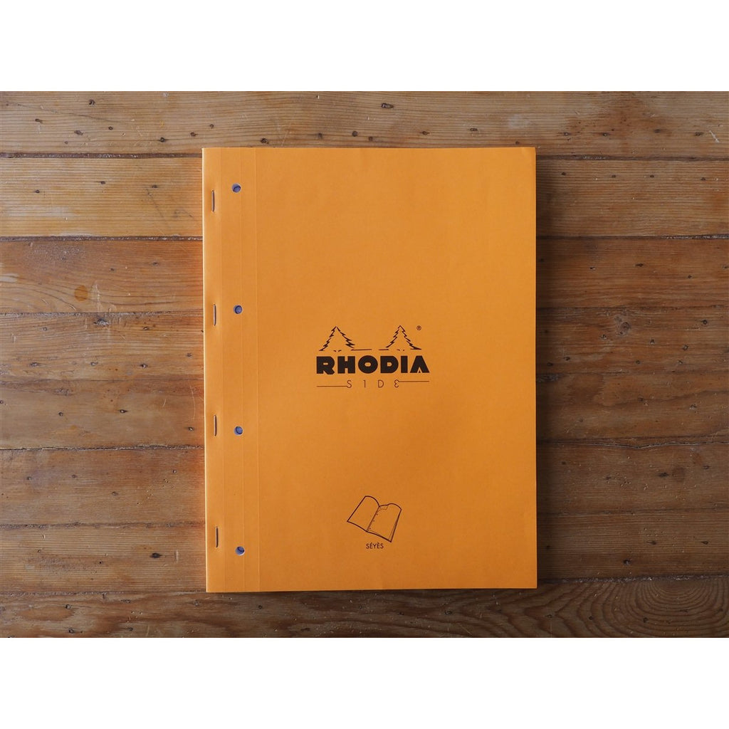 <center>Rhodia Sides Notebook - Seyes - Orange (A4)</center>