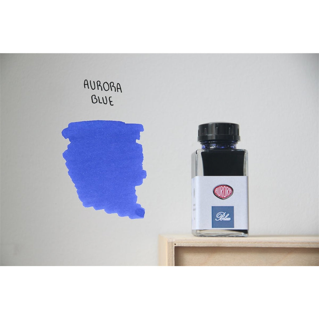 <center>Aurora Fountain Pen Ink (45mL) - Blue</center>