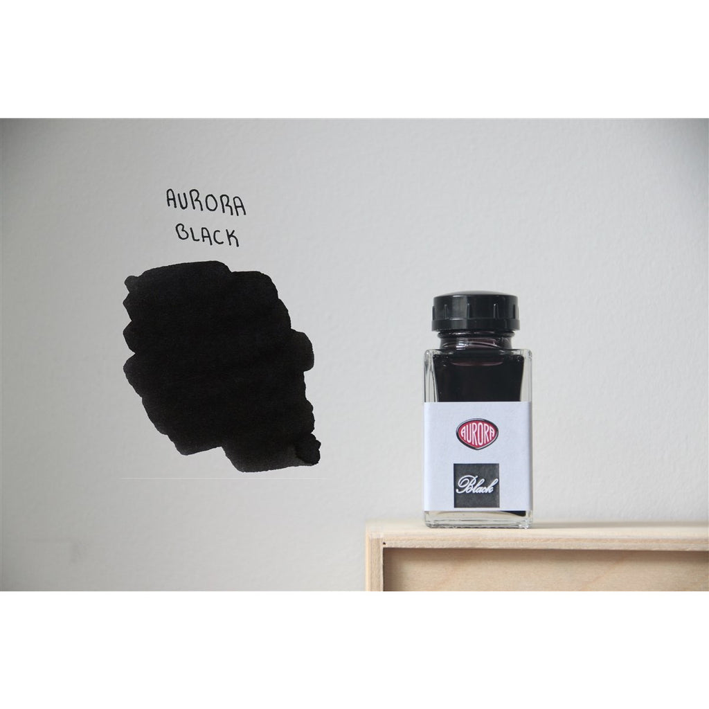<center>Aurora Fountain Pen Ink (45mL) - Black</center>