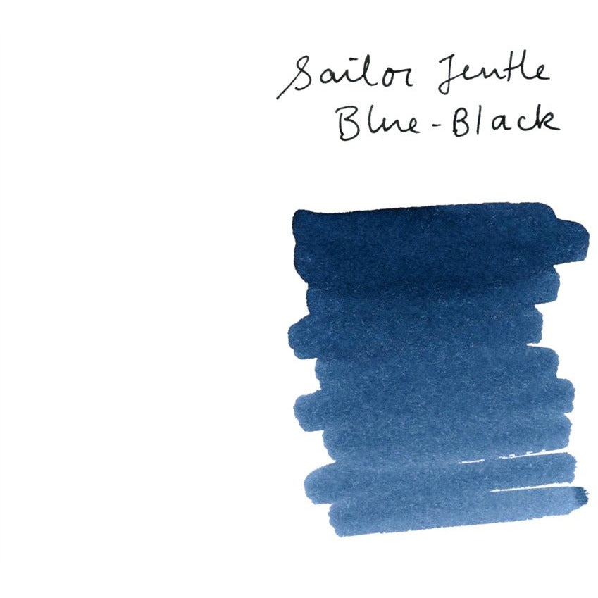 <center>Sailor Bottled Fountain Pen Ink (50mL) - Blue-Black</center>