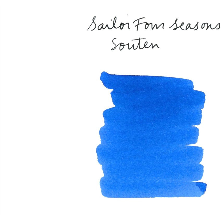 <center>Sailor Shikiori Fountain Pen Ink (20mL) - Souten</center>