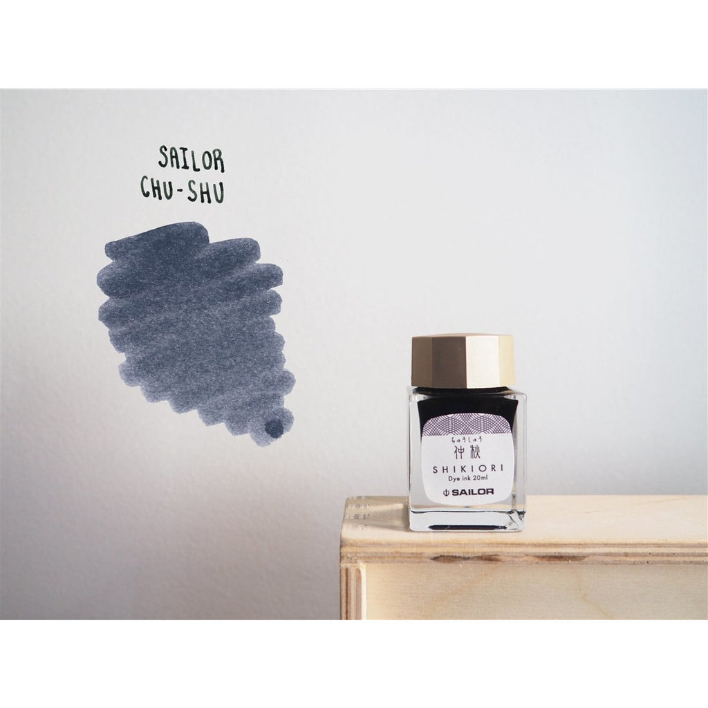 <center>Sailor Shikiori Fountain Pen Ink (20mL) - Chushu</center>