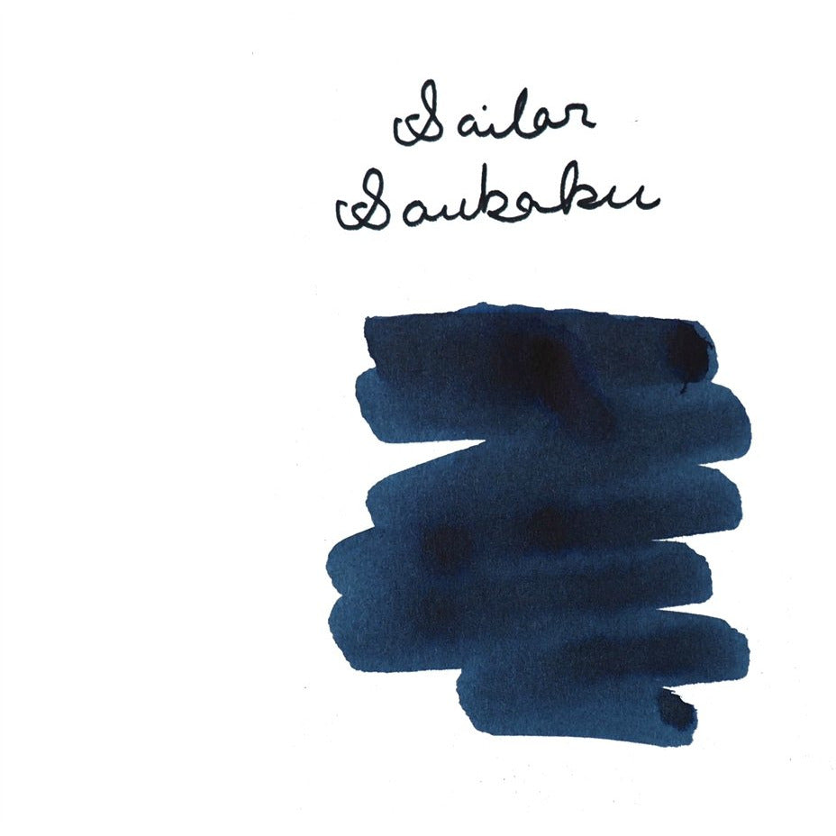 <center>Sailor Bottled Fountain Pen Ink (50mL) - Souboku Pigment Ink</center>