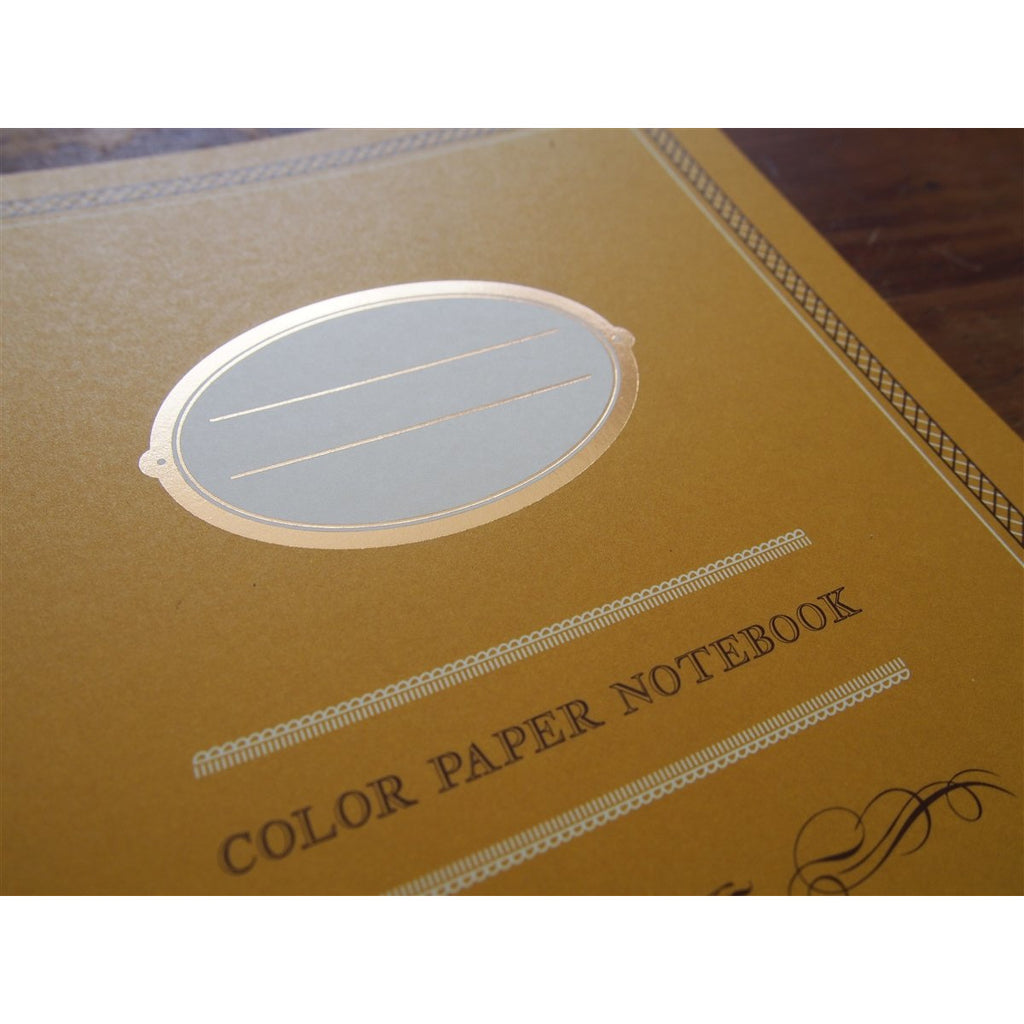 <center>Midori Color Paper Lined Notebook A5 - Yellow</center>